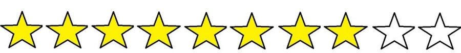 8 out of 10 stars