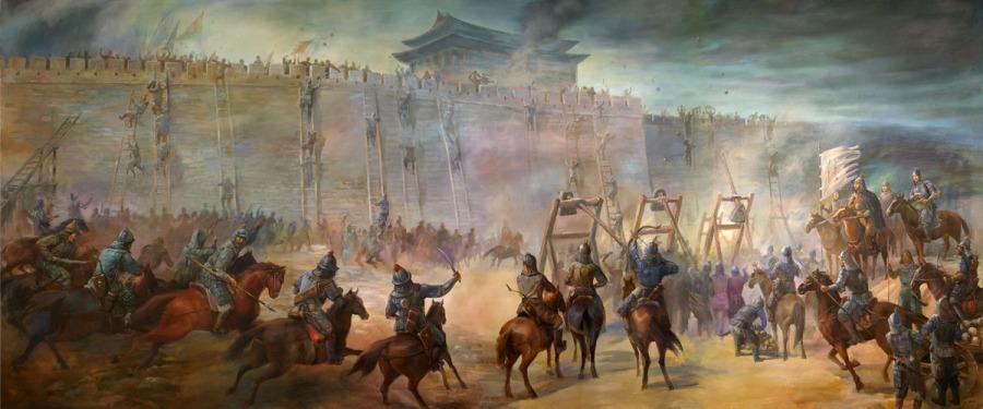 Siege of Xixia