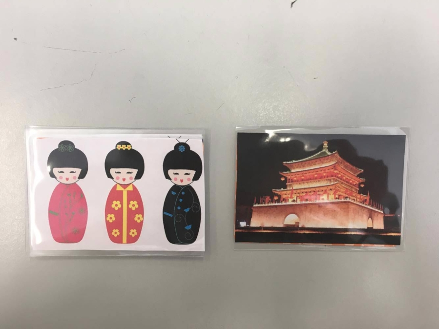 Ancestor and emperor card
